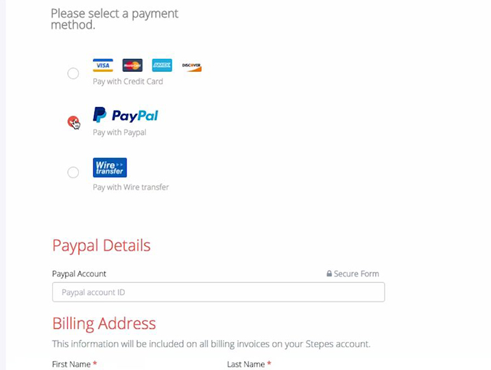 2018 Customer Guide, Adding payment methods