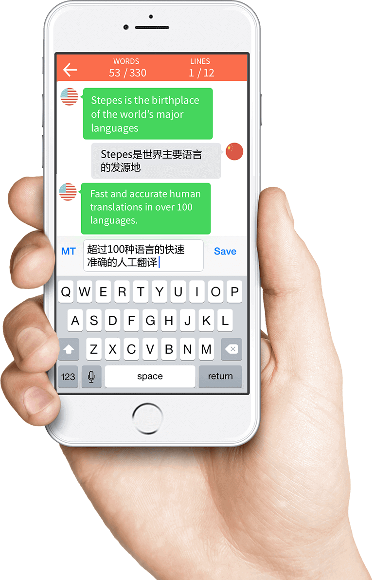 Translations Into Italian: Mobile Translation Service