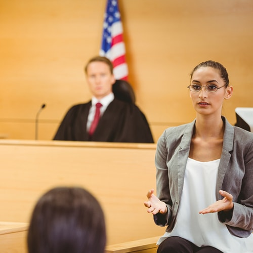 Courtroom interpretation