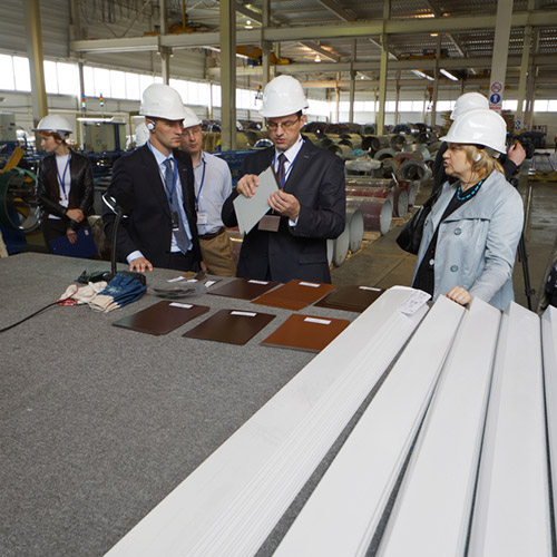 Factory and supplier visits