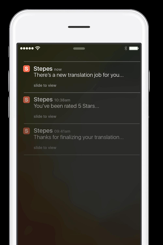 Stepes-Notification-JIT