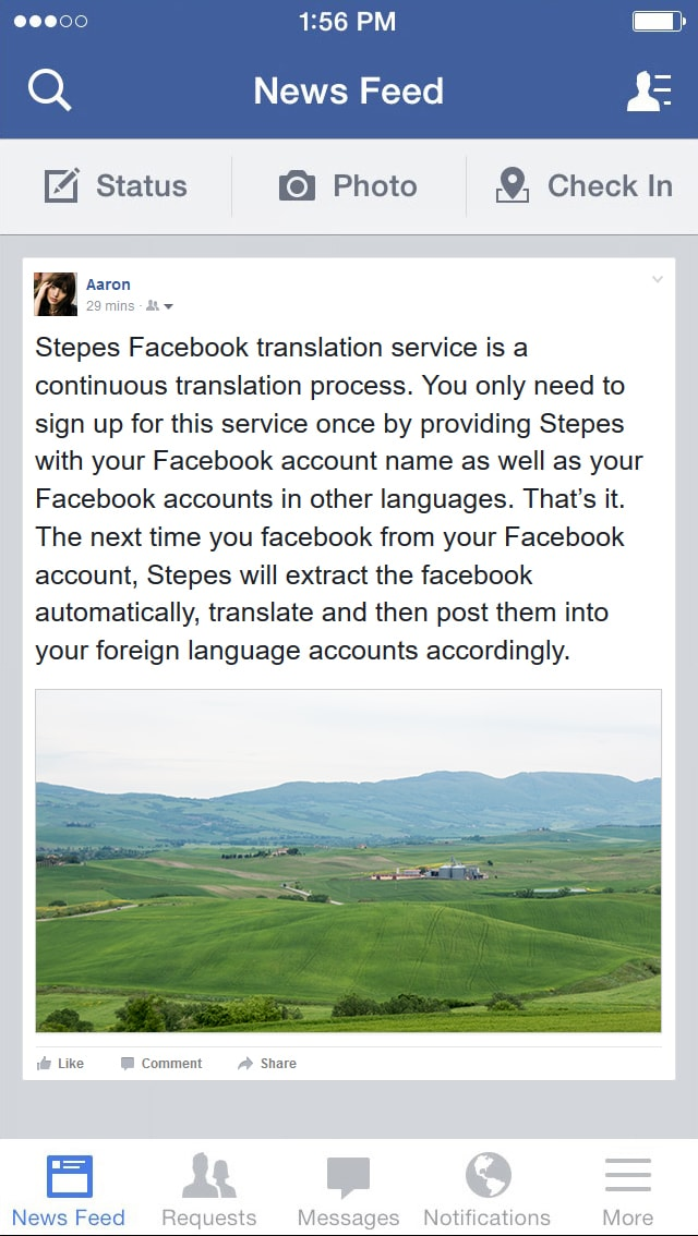 facebook-translation