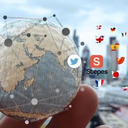 Stepes 推出Twitter 在线自动人工翻译服务