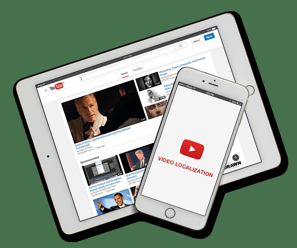 video-localization