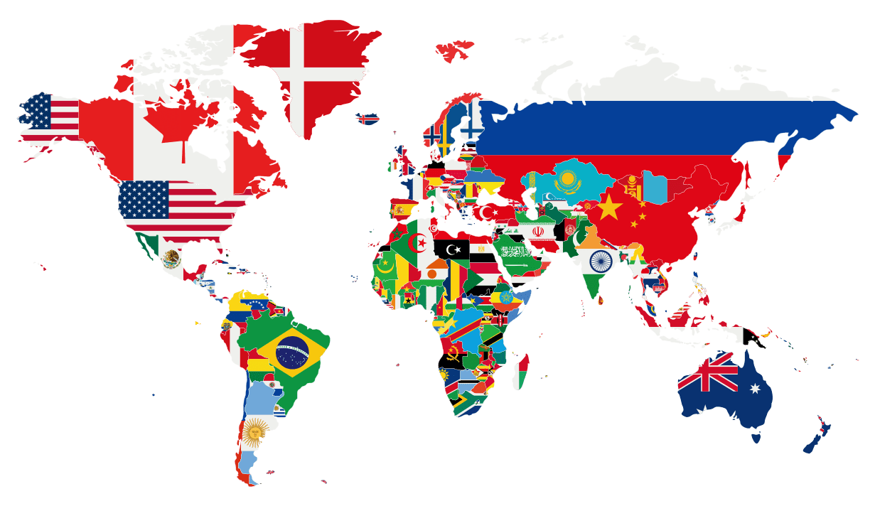 global-flag-map