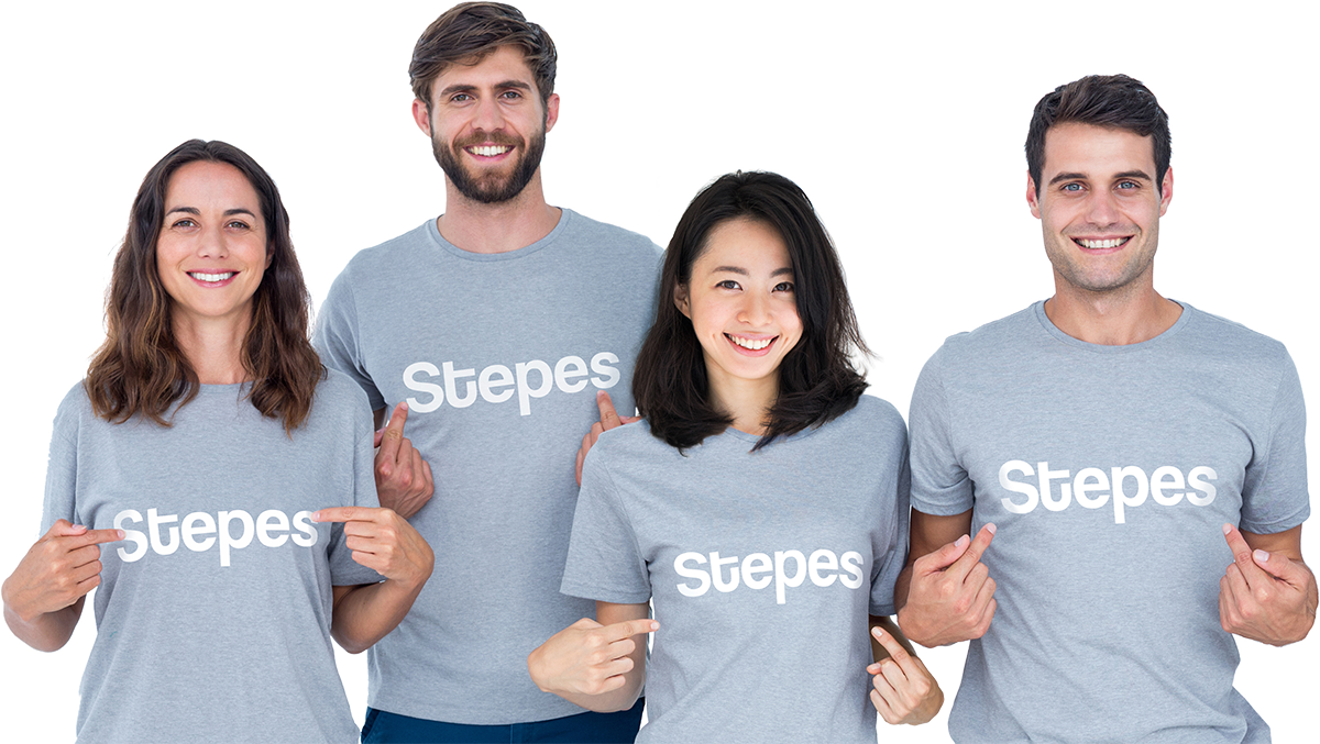 stepes-support-team-white